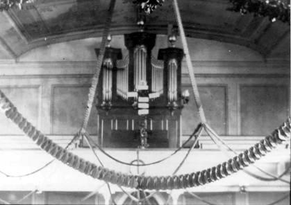 Reconstruction of 1819 Philip Bachman Organ